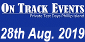 On Track Events - 28-8-2019
